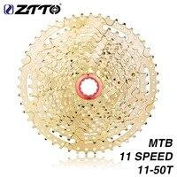 2018 Brand ZTTO 11 Speed Cassette 11 50T Compatible Road Bike Sram System High Tensile Steel Sprockets Folding Gold Gear