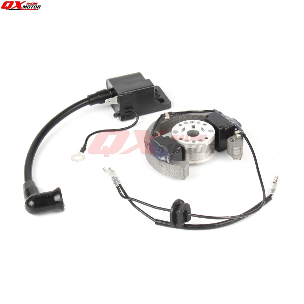Motorcycle Magneto Stator Rotor + Ignition Coil Flywheel For KTM 50cc SX DIRT PIT BIKE Pro Senior Junior SR JR 50