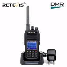 DMR Radio Retevis RT3 Digital de Walkie Talkie VHF (UHF) 5 W 1000CH Cifrado Jamón Hf Transceptor de Radio de Dos Vías de los cb de Radio de Escaneo GPS RT3