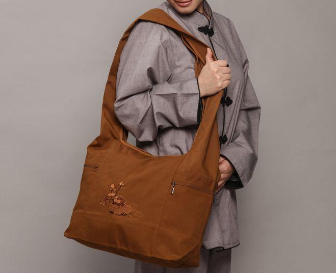Buddhist shaolin Monk bags Arhat bag handbag lay meditation package backpack