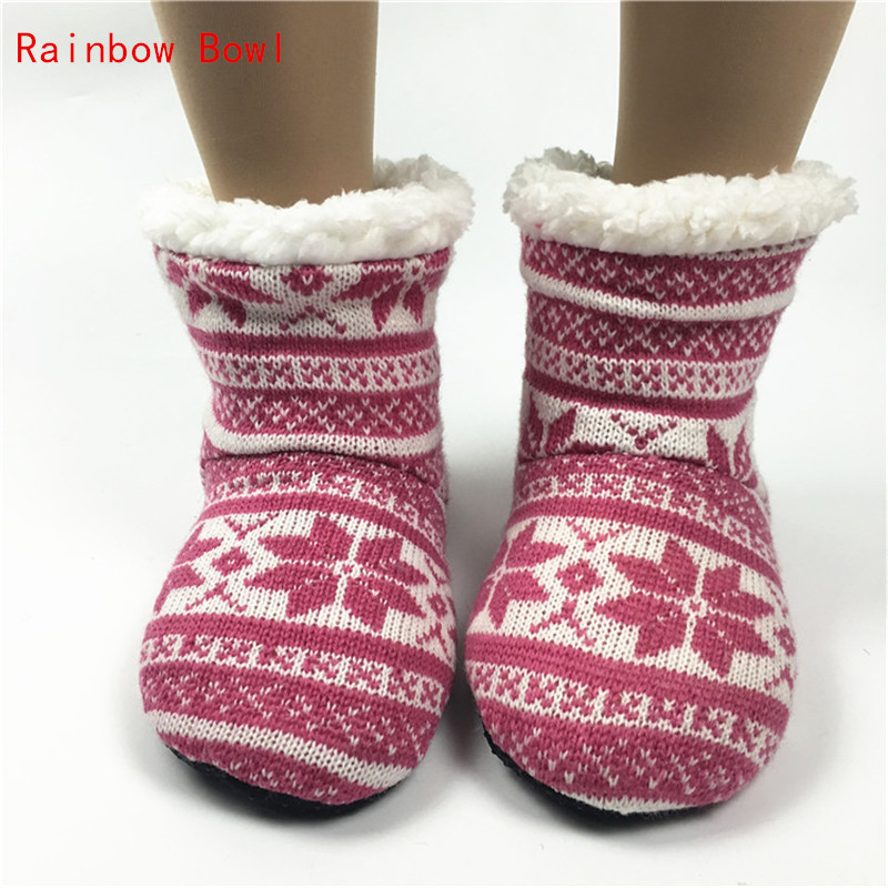 Rainbow Bowl 2017 Super  Best Quality Winter Warm Indoor Shoe Floor Soft Sole Long Boots Super Autumn Home HouseSlipper Shoes foster big bowl soft 873x513 1l
