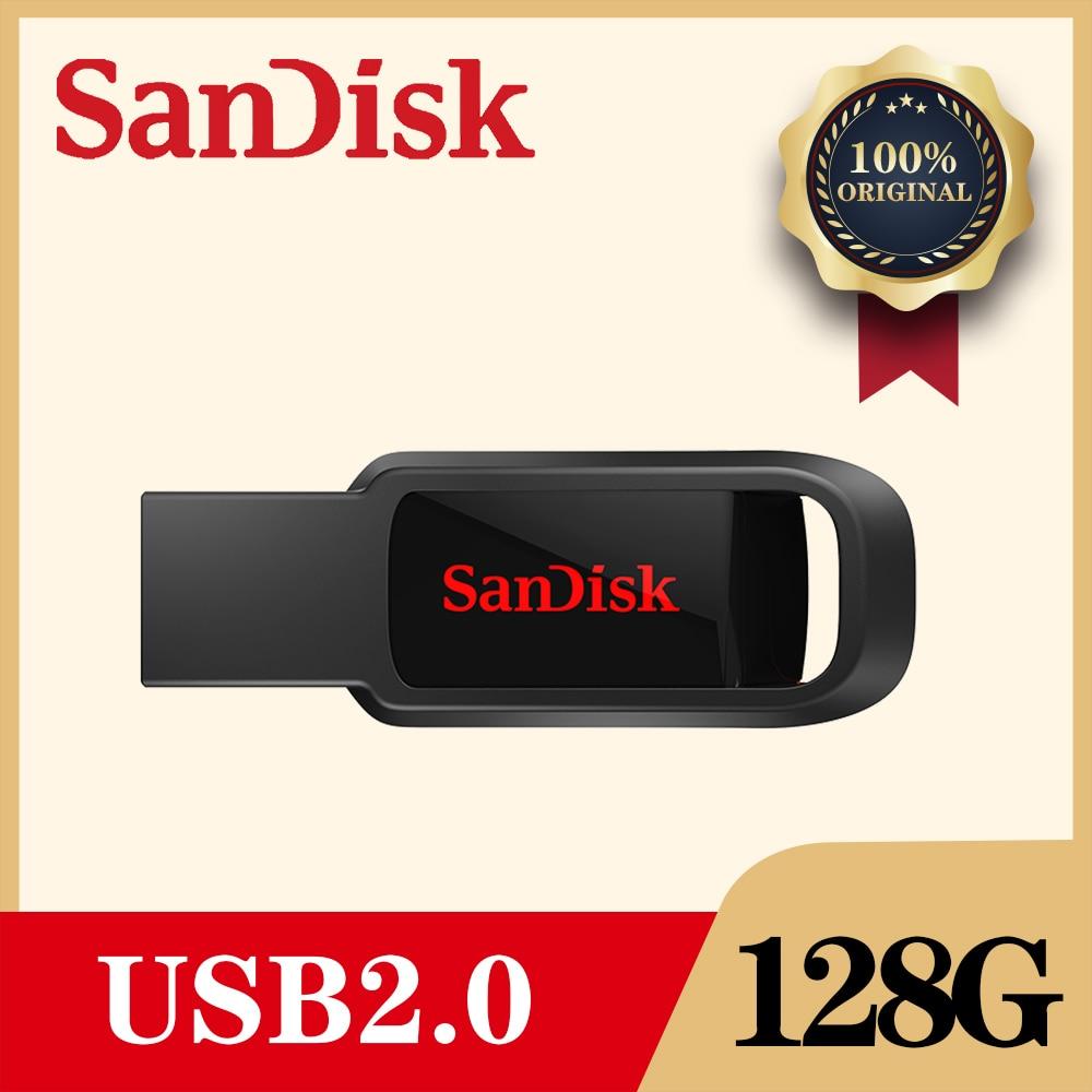 SanDisk CZ61 USB Flash Drive 128GB/64GB/32GB/16GB Pen Drive Pendrive USB 2.0 Flash Drive Memory stick USB disk usb flash Mercedes-Benz CLA-класс