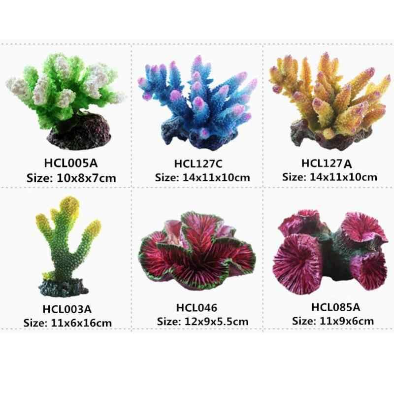 Aquarium artificiel en corail, nouveau modèle 12 Styles