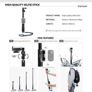 Image 3 - Vamson for Gopro 7 6 5 Accessories Set Waterproof Housing Protection case Monopod for Gopro hero 6 5 Sport Camera Vamson VS10