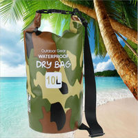 Quality 10L Dry Bag 500D PVC Waterproof Sack Storage Bag RaftingAND Volleyball Sports Kayaking Canoeing Swimming