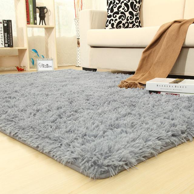 Rectangle Plush Carpets