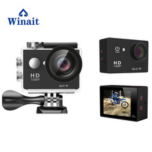 FULL hd 1080p 30fps waterproof wifi action camera 2.0 display sports mini DV free shipping