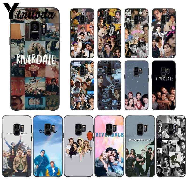 Yinuoda Riverdale Popular Custom TPU Phone Cover For GALAXY s5 s6 edge edge plus s7  s8 plus s9 plus