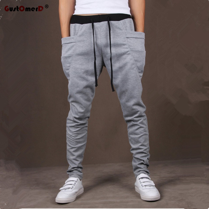 Cargo Men Pants Pocket 8-Colors Hombre Unique