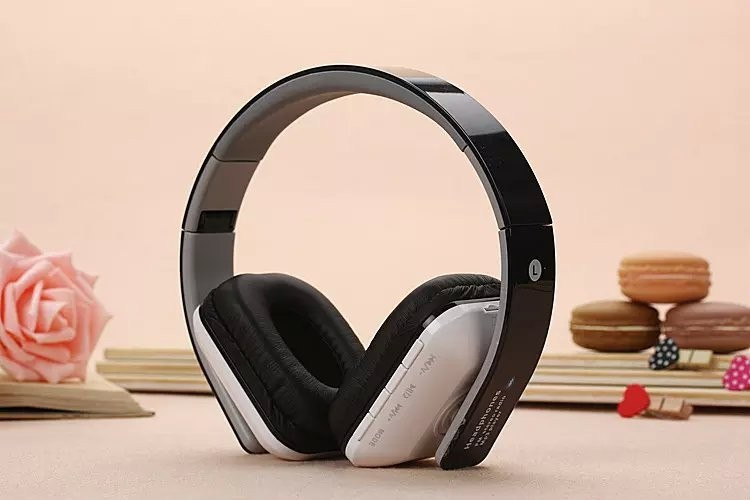 Wireless Foldable JKR-202B Bluetooth headphone Stereo Headset with Noise Reduction Microphone Support FM Radio TF Card For phone