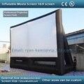 Бесплатная доставка 8x6 м гигантский надувной экран кино надувные проекционный экран фильм надувной экран фильма