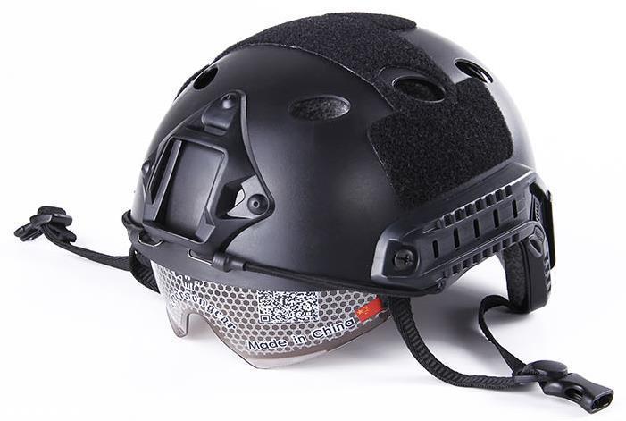 Nouveau casque de lunettes rapides casque de Type PJ casque militaire tactique airsoft