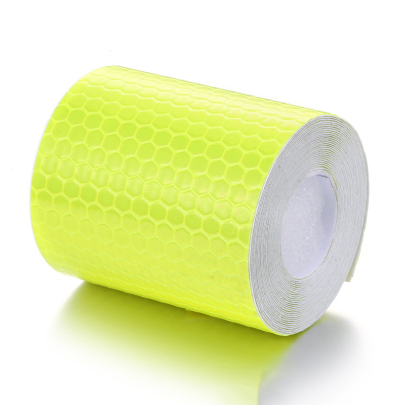5cmx3m Safety Mark Reflective Tape Sticker Car Styling Self Adhesive Warning Tape Automobiles Motorcycle Reflective Strip 6color