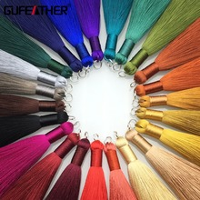 GUFEATHER L62 8cm Silk Tassel jewelry accessories accessories parts jewelry findings embellishments diy accessories hand made cheap 8 0cm 0 8cm 0 5cm