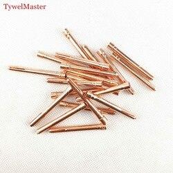 20 sztuk/6 sztuk spawanie argonem TIG pochodnia 1.0mm 1.6mm 2.0mm 2.4mm 3.0mm 3.2mm TIG elektroda wolframowa Collet