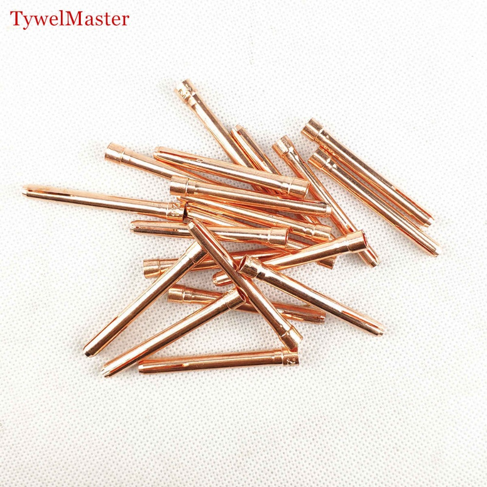 20pcs/4pcs Argon Welding TIG Torch Consumable 1.0mm 1.6mm 2.0mm 2.4mm 3.0mm 3.2mm TIG Tungsten Electrode Collet
