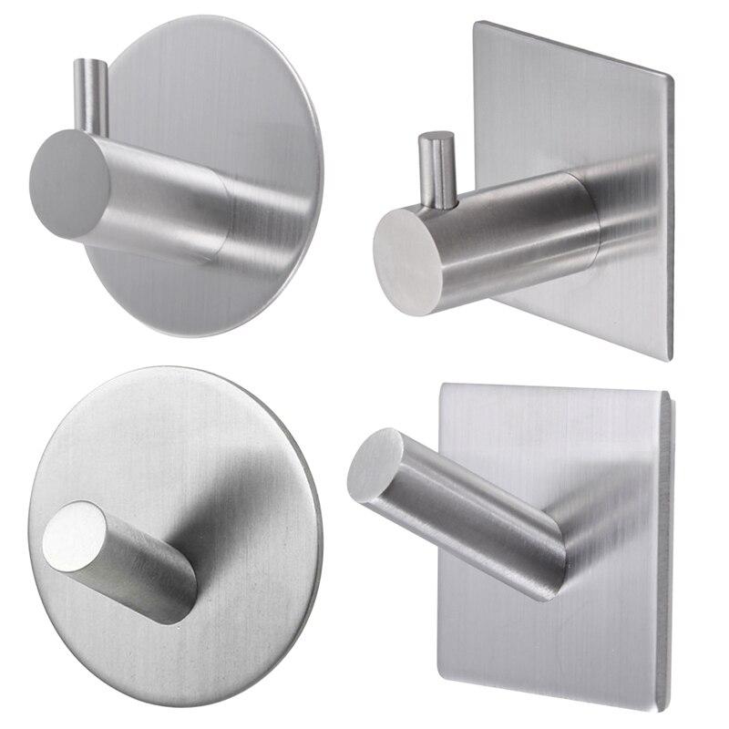 muro del bagno gancio in acciaio inox bastone su adesivo robe asciugamano famiglia porta kitchenroom bagno