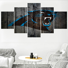Hot Carolina Panthers Team Logo Prints Paintings Wall Home Decor Picture  Canvas Painting Calligraphy For Living 0dcada814