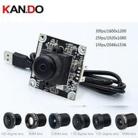 8.0 mega pixel HD camera module USB 2.0 hd surveillance camera 185 wide angle camera module 8.0MP CAMERA USB 38*38mm