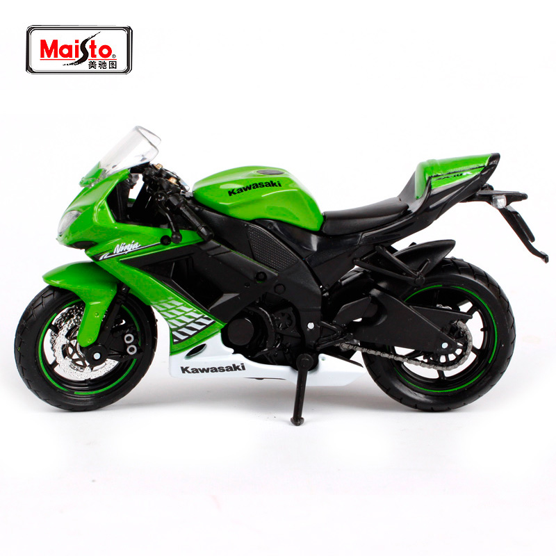 Maisto 118 Kawasaki Ninja Zx 10r Motorcycle Bike Diecast Model Toy