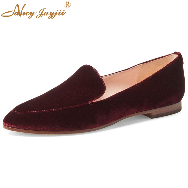 Nancyjayjii Woman Wine Red Boat Shoes Flat Heels Non-Leather Casual Comfortable Women Shoes Zapatos Mujer Large Size 4-16 casual ballet leopard pattern non leather flat shoes women fashion boat shoes zapatos mujer tacon sapato flats large size 4 16