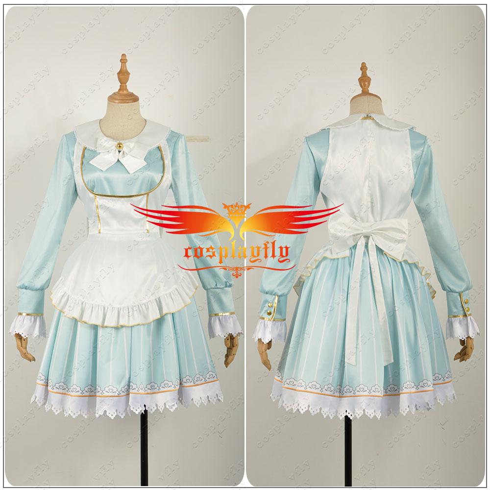 Aqours Love Live Watanabe You Alice Unawakened Dress Cosplay Costume Custom