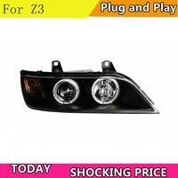 for BMW Z3 Ram 1500 LED Headlight 1996 2002 Headlight Bi Xenon Head Lamp LED DRL Car Lights