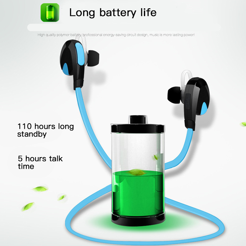 Good Sound Quality APT-X Bluetooth 4.1 Earphone Sweat Proof Headset Sport Stereo Wireless Headphones For iPhone Android 5