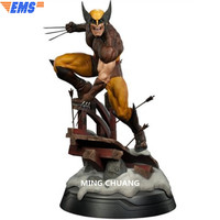 20 X Для мужчин статуя супергероя бюст Wolverine полный Длина портрет 1:2 анимационная фигурка GK Коллекционная модель игрушки коробка 50 см Z211