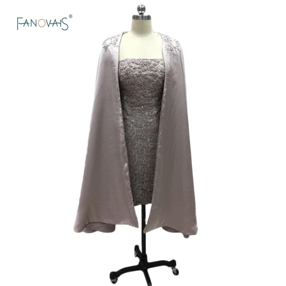 Elegant Strapless Lace Коктейльные көйлек Long Coat - Ерекше жағдай киімдері - фото 1