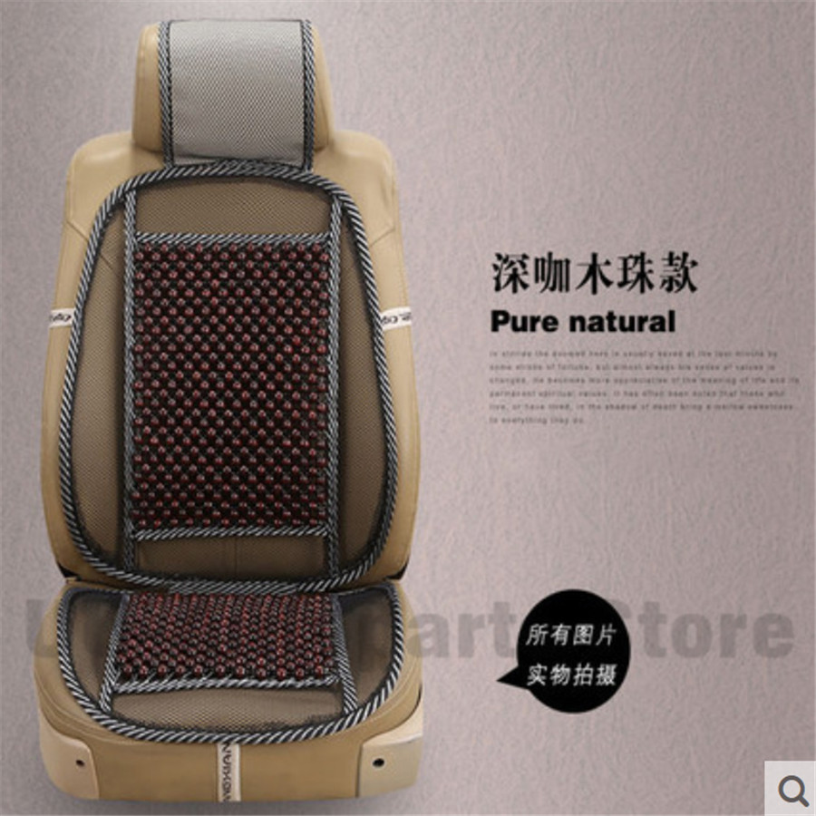 Universal Massage Wood Beads Seat Cover Cooling Natural Wooden Car Cushion Mesh Mat For Home Chair In Automobiles Covers From