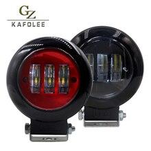 gzkafolee 1pieces led bar offroad work light Bar 4.2″ 30W 12V 24V suv 4×4 Fog Light Off Road Lights Boat driving Lights