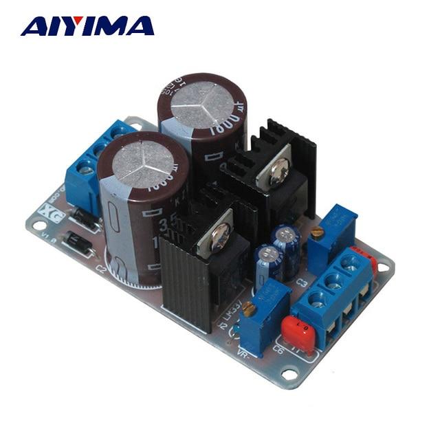 Aiyima LM317T LM337T 317 337 Dual Voltage Regulator Adjust Power Supply Board DIY Kits