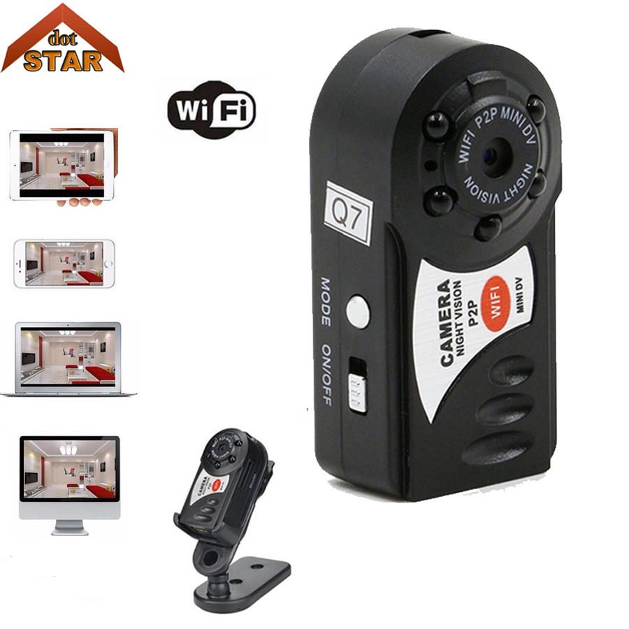 Stardot Mini Wifi Wireless IP Camcorder Video Recorder Camera Infrared Night Vision Camera Motion Detection Built-in Microphone