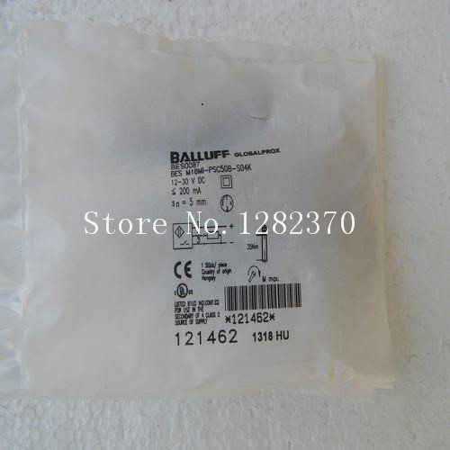 [SA] New original special sales BALLUFF sensor BES M18MI-PSC50B-S04K spot --2PCS/LOT 4pcs new for ball uff bes m18mg noc80b s04g