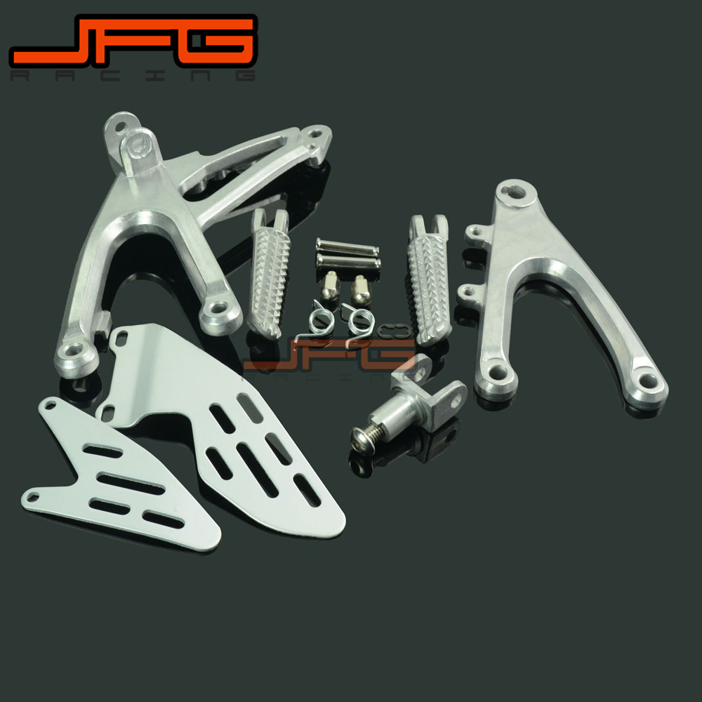 Footrests Front Foot Pegs Pedals Rest footpegs For YAMAHA YZF R1 YZF R1 2007 2008 2007