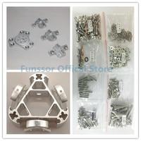 Funssor Silver Color Delta Rostock Kossel k800 aluminum magnetic effector carriage+A