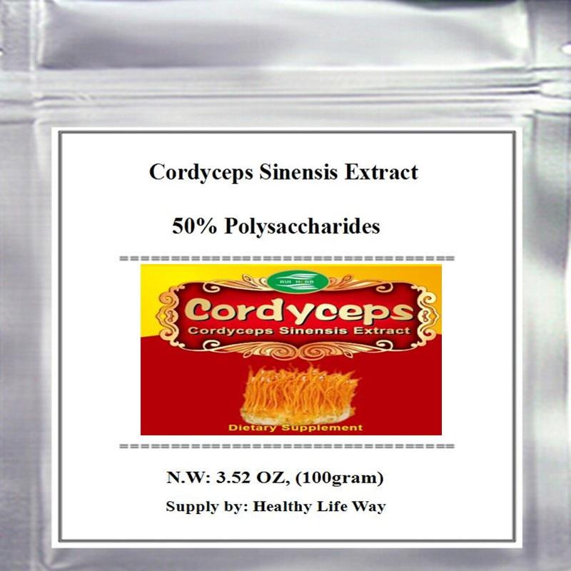 Cordyceps Sinensis Extract 50% Polysaccharides Powder bulk powder pure green coffee bean extract 50