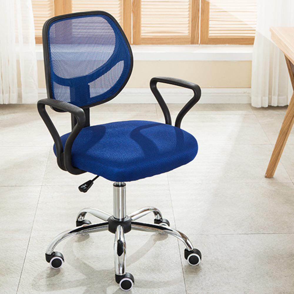 Plastic Can Slide To Work In An Office Staff Member Chair Company Meeting Computer Chair Commercial Economics Type Chair ...