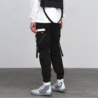 hip hop sweatpants mens cargo pants with many pockets pantalon homme high street joggers men fashion trousers male casual hombre