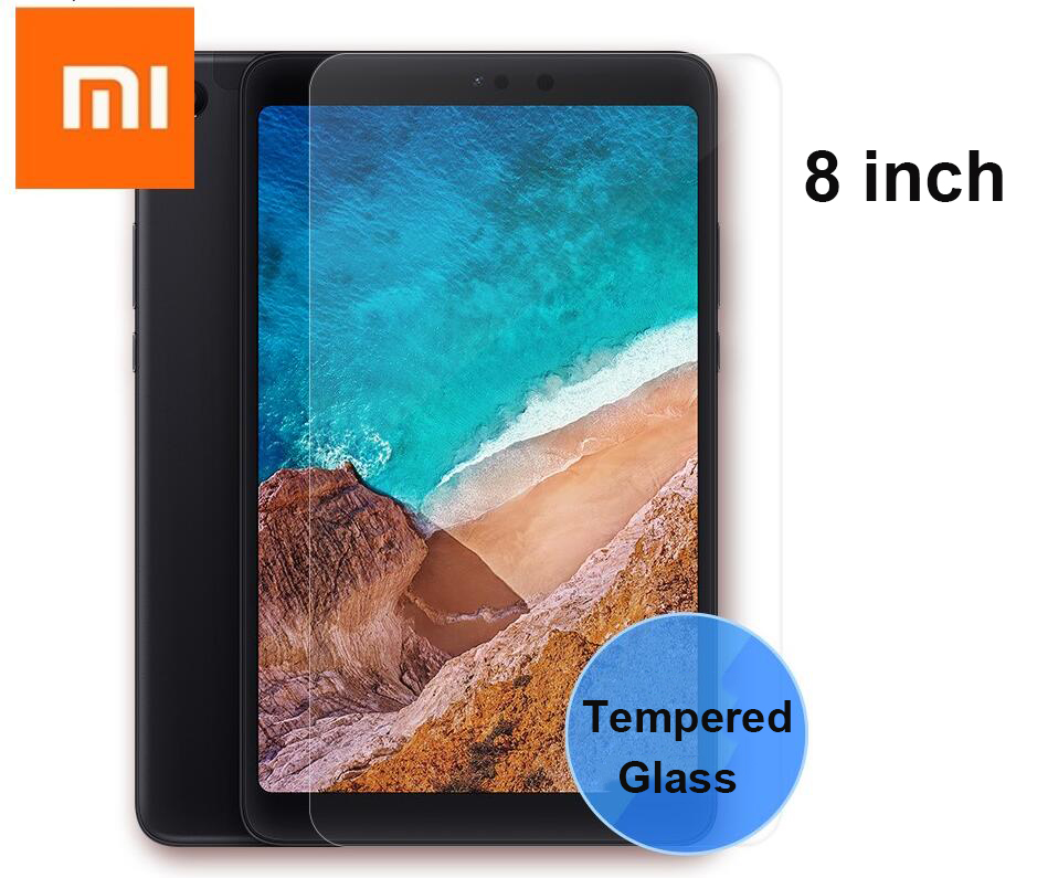 Genuine Clear 9H Tempered Glass Tablet Screen Protector For Xiaomi Mi Pad 4 8.0