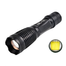 CREE XM-L T6 1000 Lumens Zoomable Handy LED Flashlight 18650 5 Modes Pocket MINI LED Torch Adjustable Outdoor Campe Lanterna AAA 2300lm searchlight 3 modes handheld xm l t6 zoomable rechargeable led portable spotlight 18650 flashlight torch lamp