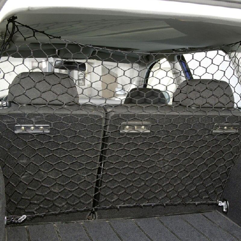 Perro red de protección coche barrera de aislamiento para barrera de red maletero redes de seguridad mascotas suministros gran oferta