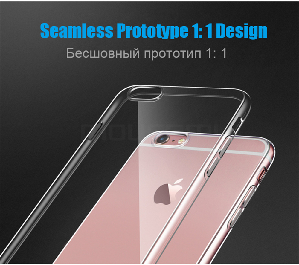 MOUSEMI For iPhone 6 Case Silicone Transparent 6S For iPhone Case Luxury TPU Coque Clear For iPhone 6 6s Plus Phone Cases Cover (1)