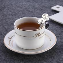 Творческий пёс из мультфильма мороженое Десерт милая собака кофейная/чайная ложка кружка подвесная ложка дома чай инструмент LX4698
