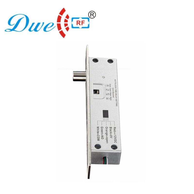 DWE CC RF Locks 12V power off lock the door eletric door latch bolt lock dwe cc rf access control door lock low temperature standard electric bolt invisible door lock