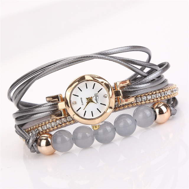 Dropshipping Watch Top Brand New luxury crystal bracelet Watch Women Relogio Fem