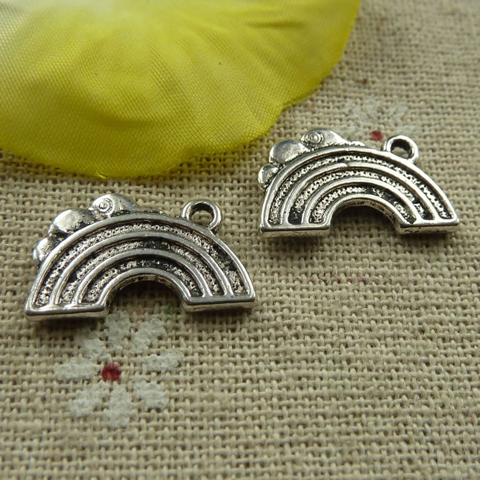Free Ship 20 pieces Antique silver cute connector 45x32mm #569