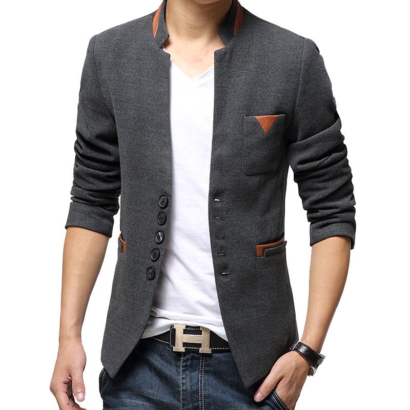 2015 Autumn Winter Casual Men Blazer Men's Suits Business Slim Fit Jackets Coats Size M-XXXL - Perfect, Clothing store
