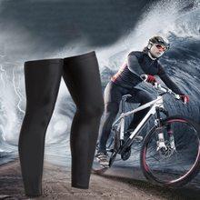 Высокой упругой велосипедов Велоспорт Гетры Леггинсы Велоспорт гетры Зима Термальность Фитнес велосипед подготовки штанины